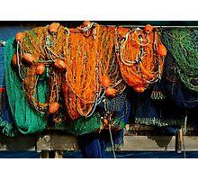 Nets Photographic Print