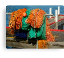Fishing Nets Metal Print