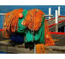 Fishing Nets Photographic Print