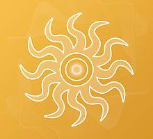 Sun Salutation by Sallie Keys