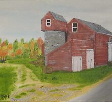 Mother-in-law Barn - Maine by jackmck1