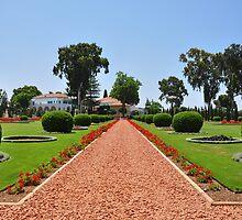 Shrine of Bahá'u'lláh, Acre Israel. by Andrei Badescu