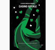 No277-007-2 My Casino Royale minimal movie poster Unisex T-Shirt