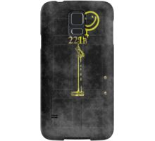 Smile! You're at 221B - yellow, foggy Samsung Galaxy Case/Skin