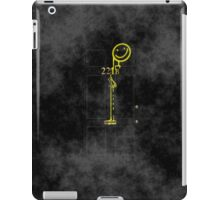 Smile! You're at 221B - yellow, foggy iPad Case/Skin