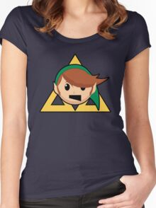 Link From The Past Women's Fitted Scoop T-Shirt