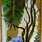 Bangalow Palm, Angophora and Native Hibiscus by Jeffrey Hamilton