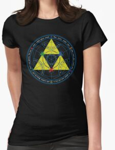 Transmutation of Time Womens Fitted T-Shirt
