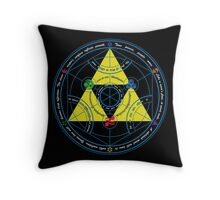 Transmutation of Time Throw Pillow