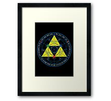 Transmutation of Time Framed Print