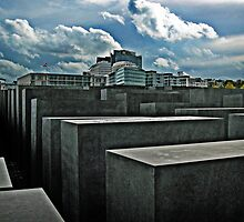 Jewish Memorial, Berlin, Germany by Timothy Alberry