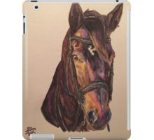 Dark Bay Dressage Horse iPad Case/Skin