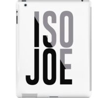 Iso Joe Johnson iPad Case/Skin