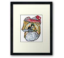 BIRRA MORETTI Framed Print