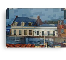 Over the Roof Tops, Geelong Metal Print