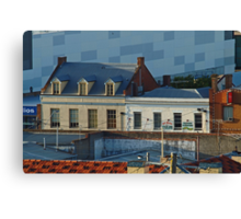 Over the Roof Tops, Geelong Canvas Print