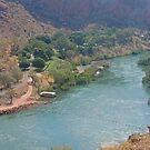 Ord River from Dam by Graeme  Hyde