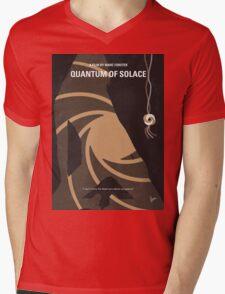 No277-007-2 My Quantum of Solace minimal movie poster Mens V-Neck T-Shirt