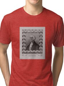 Presidents of The United States 1789-1889 Tri-blend T-Shirt