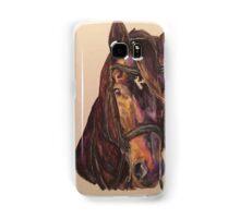 Dark Bay Dressage Horse Samsung Galaxy Case/Skin