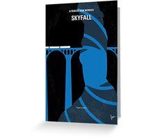 No277-007-2 My Skyfall minimal movie poster Greeting Card