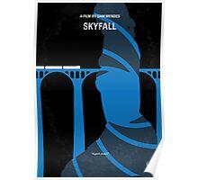 No277-007-2 My Skyfall minimal movie poster Poster
