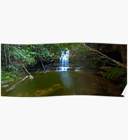 The Bottom Pool - Terrace Falls Poster
