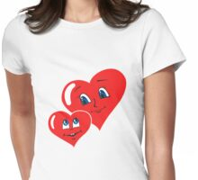 Mother and Son Womens Fitted T-Shirt