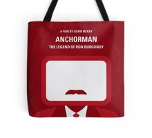 No278 My Anchorman Ron Burgundy minimal movie poster Tote Bag