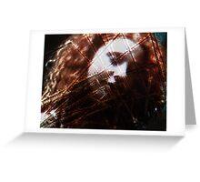 Dreaming woman - Portraet Greeting Card