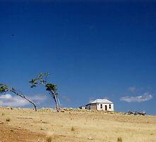 Bleak House, Maria Island, Tasmania, Australia by Jane McDougall