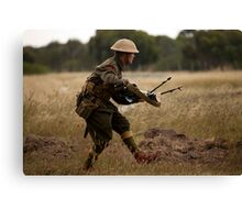 Enemy Spotted Canvas Print