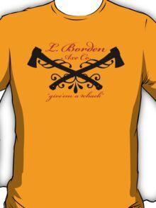 L. Bordan Axe Company T-Shirt