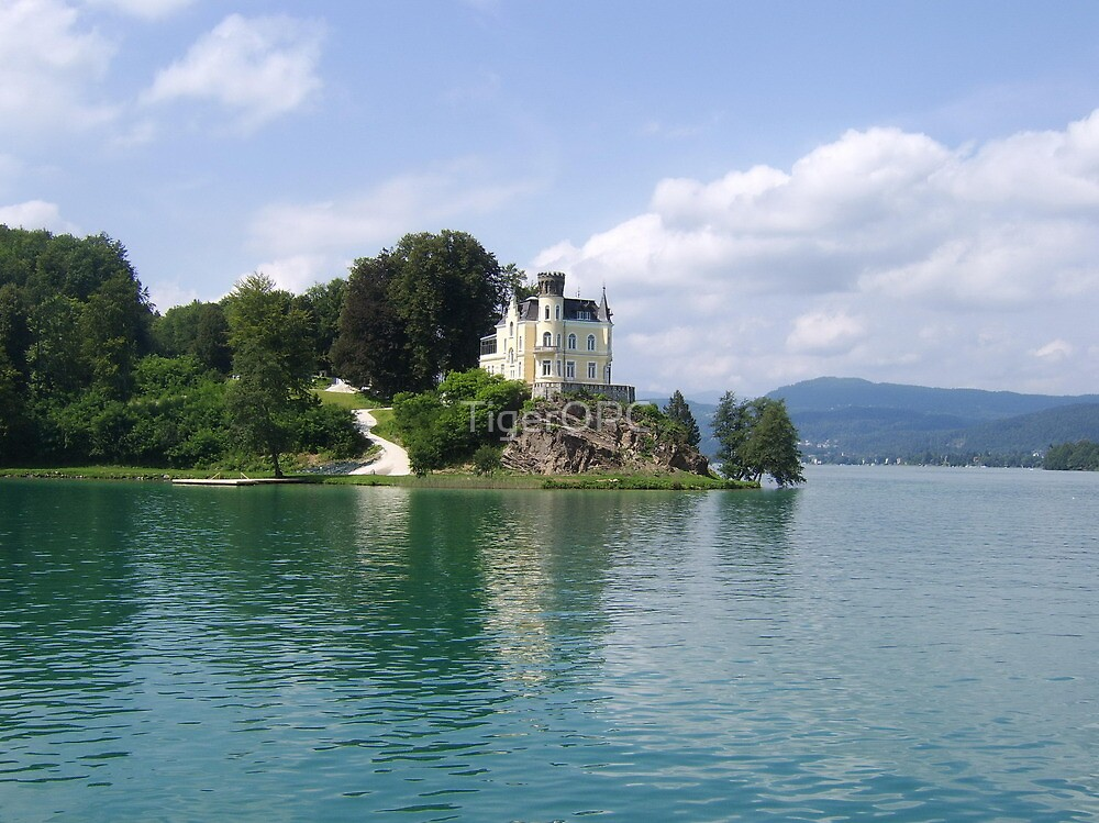 Castle on the Lake by TigerOPC