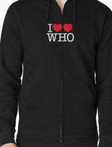 I ♥♥ WHO (dark) T-Shirt