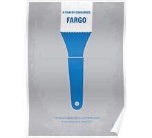 No283 My FARGO minimal movie poster Poster