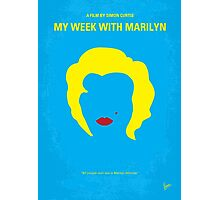 No284 My week with Marilyn minimal movie poster Photographic Print