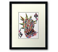 AI Spike Framed Print