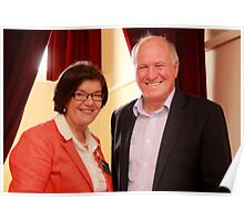 Federal Member for Indi Cathy McGowan and Former Member for New England Tony Windsor Poster