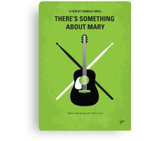 No286 My There's Something About Mary minimal movie poster Canvas Print