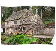 Fountains Cottage Poster