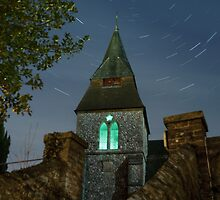 Keymer Church Startrail by oindypoind