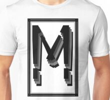 The Alphabet  The letter M Unisex T-Shirt