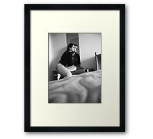 searching for something Framed Print