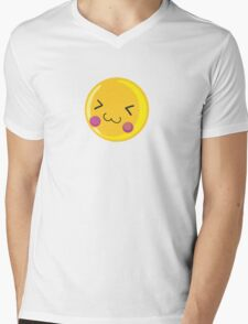 Cute emoticon Mens V-Neck T-Shirt
