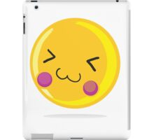 Cute emoticon iPad Case/Skin
