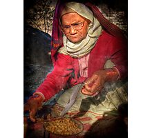 peanut merchant, one of  a kind Photographic Print