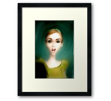 What!?! Framed Print
