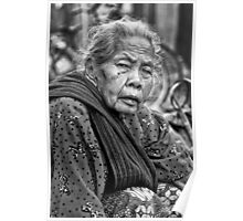 old women BW Poster