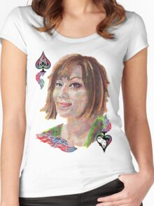 Thai Girl Women's Fitted Scoop T-Shirt